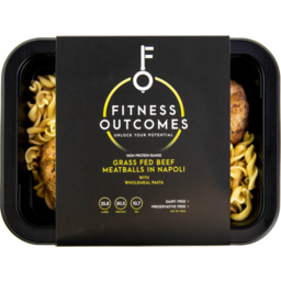 Photo of Fitness Outcomes Beef Meatballs 350gm
