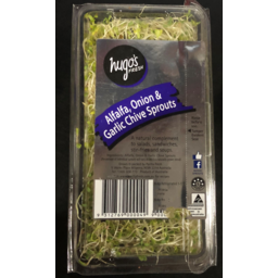 Photo of Alfalfa, Onion & Garlic Chive Sprouts 125g