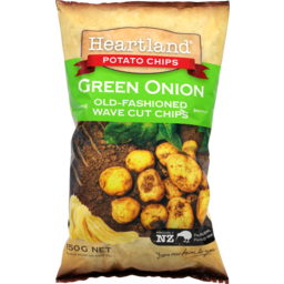 Photo of Heartland Potato Chips Green Onion 150g
