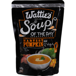 Photo of Wattie's Soup Of The Day Harvest Pumpkin 430g