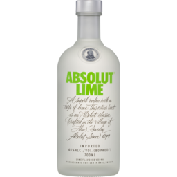 Photo of Absolut Lime Vodka