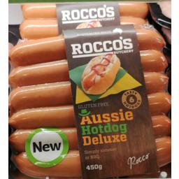 Photo of Bs Aussie Hotdog Dlx 450g
