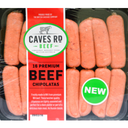 Photo of Caves Rd Beef Chipolatas 500gm