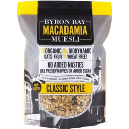 Photo of Byron Bay Macadamia Muesli Classic 500g