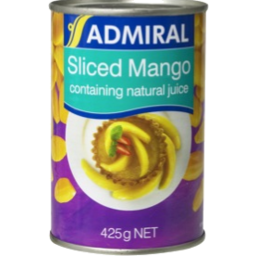 Photo of Admiral Mangoes in Natural Juice 425g
