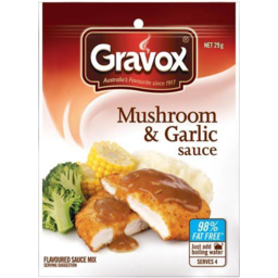 Photo of Gravox Sauce Mix Mushroom & Garlic 29gm