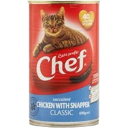 Photo of Chef Cat Food Chicken & Snapper 690g