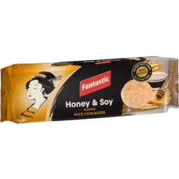 Photo of Fantastic Rice Crackers Honey & Soy 100g