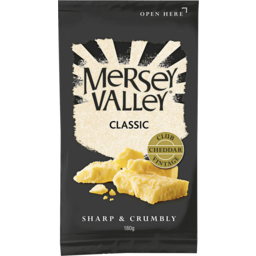 Photo of Mersey Valley Classic Vintage Club Cheddar 180gm
