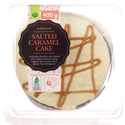 Photo of WW Salted Caramel Layer Cake 400g