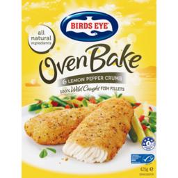 Photo of Birds Eye Fish Oven Baked Lemon Pepper 425g