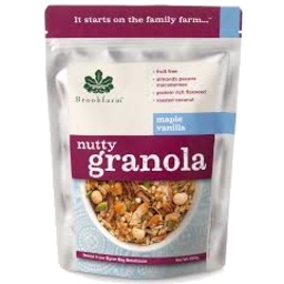 Photo of Brookfarm Maple Vanilla Nutty Granola 450g