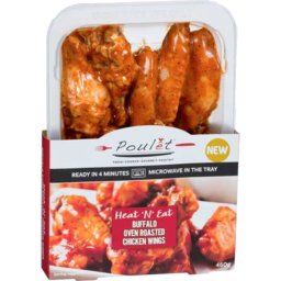 Photo of Poulet Heat'n'eat Buffalo Oven Roasted Chicken Wings 460gm