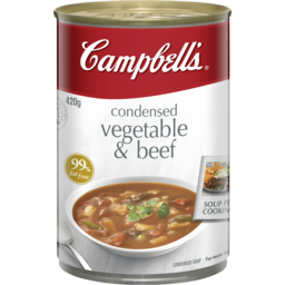 Photo of Campbell's Soup Vegetable & Beef 420gm