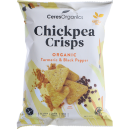 Photo of Chickpea Crips - Tamari / Black Pepper