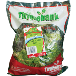 Photo of Thymebank Lettuce & Herb Mix 150g (Local Produce)
