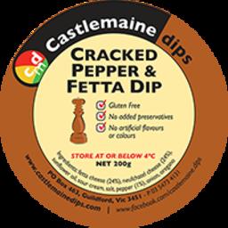 Photo of Castlemaine Dip Cracked Pepper & Feta 200gm