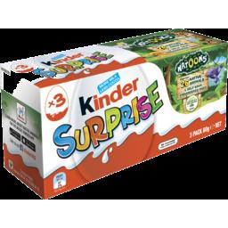 Photo of Kinder Surprise Value Pack 3pk 60g