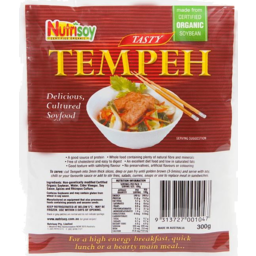 Photo of Nutrisoy Tasty Tempeh 300g