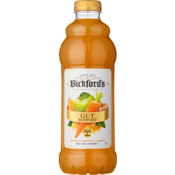 Photo of Bickfords Gut Support Blended Fruits & Carrot With Tumeric & Ginger Juice 1l