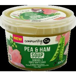 Photo of Comm Co Soup Pea&Ham 300gm