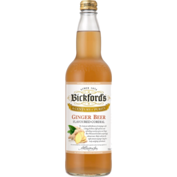 Photo of Bickfords Ginger Beer Cordial 750ml