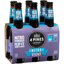 Photo of 4 Pines Nitro Stout 6 Pack X 330ml
