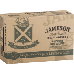 Photo of Jameson Irish Whiskey Smooth Dry & Lime Cans