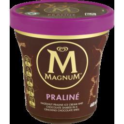 Photo of Magnum Tub Ice Cream Hazelnut Praline 440ml