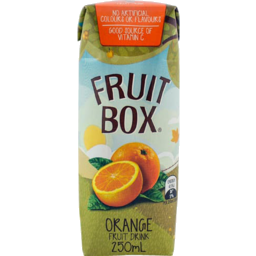 Photo of Tetra Fruit Box Orange 250ml