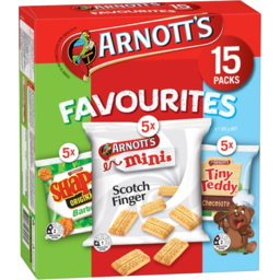Photo of Arnott's Favourites 15pk Multi-Pack 375gm