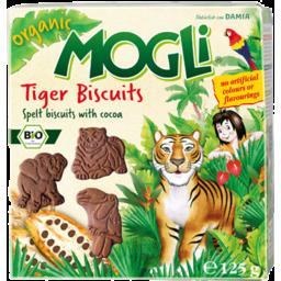 Photo of Mogli Spelt Tiger Biscuit 125g