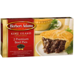 Photo of Herbert Adams 2 King Island Beef Pies