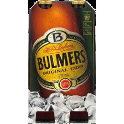 Photo of Bulmers Original Cider 330ml 4 Pack