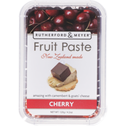 Photo of Rutherford & Meyer Paste Fruit Cherry 120g