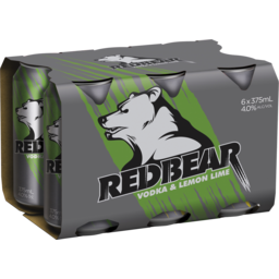 Photo of Red Bear Lemon Lime Cans