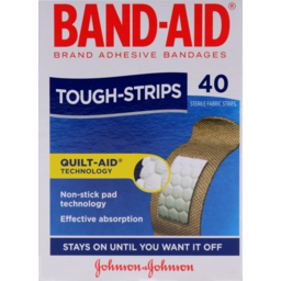 Photo of Band-Aid Tough Strips 40pk
