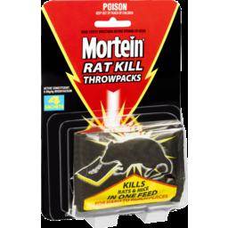 Photo of Mortein Rat Kill Throwpacks 4 Pack