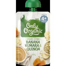 Photo of Only Organic Baby Food Pouch Banana Kumara & Quinoa 4+ Month 120g