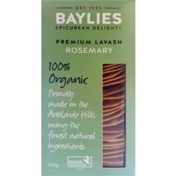 Photo of Baylies Lavash Rosemary 135g