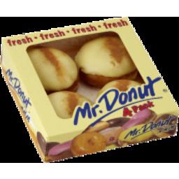 Photo of Mr Donut Banana Cust Donut 4pk