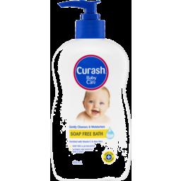 Photo of Curash Baby Care Moisturising Soap Free Bath 400ml