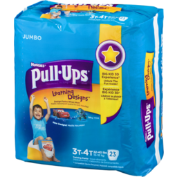 Photo of Huggies Pull-Ups Learning Designs Training Pants Size 3t-4t - 23 Ct