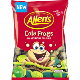 Photo of Allens Cola Frogs 170gm