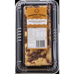 Photo of Original Foods Cookie Caramel One Bar Slice