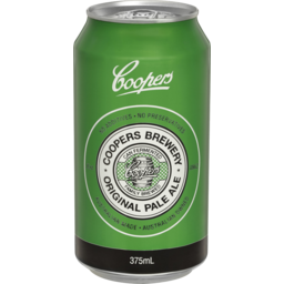 Photo of Coopers Original Pale Ale 375ml Can