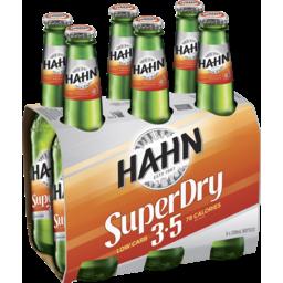Photo of Hahn Super Dry 3.5% Stubbies