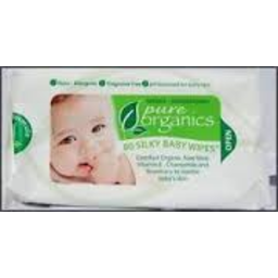 Photo of Care Organic Baby Wipes 80