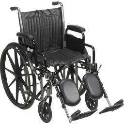 Photo of Drive Medical Wheelchair Manual Silver Sport Ii