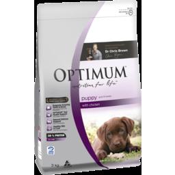 Photo of Optimum Puppy Food Chicken 3kg